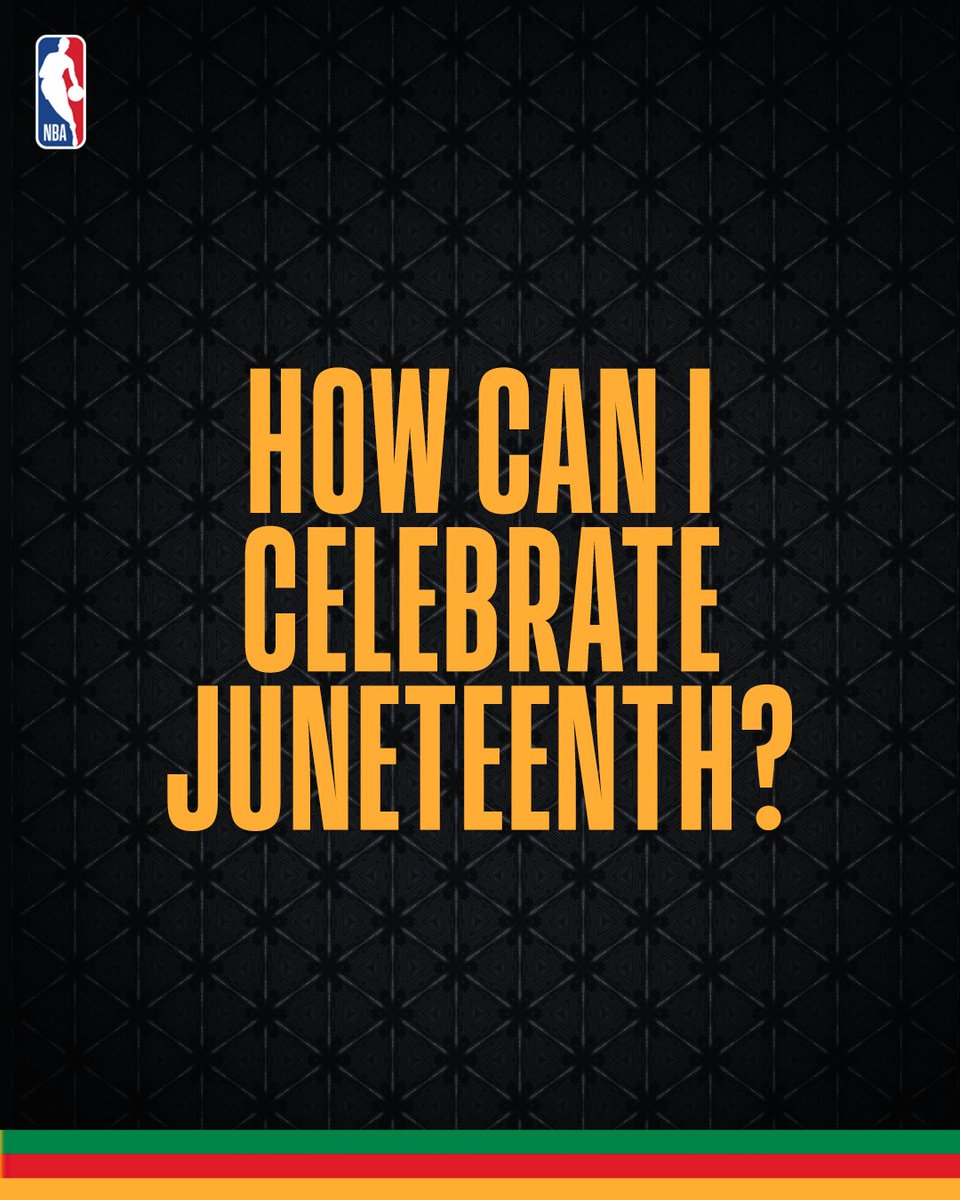 Not sure how to commemorate #Juneteenth this year? Here are some ideas to begin your Juneteenth celebrations or grow the traditions you already have. https://t.co/NzwFHwHabY