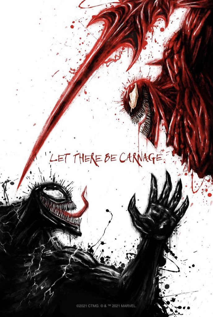 #fan #art - #venom #VenomLetThereBeCarnage   #Games #twitter #instagram #instagood #movies #film #photooftheday #actor #entertainment #gaming #gamers #love #influencer #netflix #retweet #f4f #followforfollowback #like #l4l #hollywood https://t.co/LILx0MBPEe