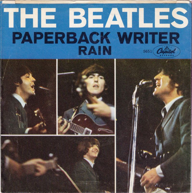 """The Beatles' """"Paperback Writer"""" hits No. 1 #OTD in 1966. One of the great #45s to have —the sleeve, the b-side... #Beatles #Vinylrecords #musichistory https://t.co/LAc7maXcgY"""