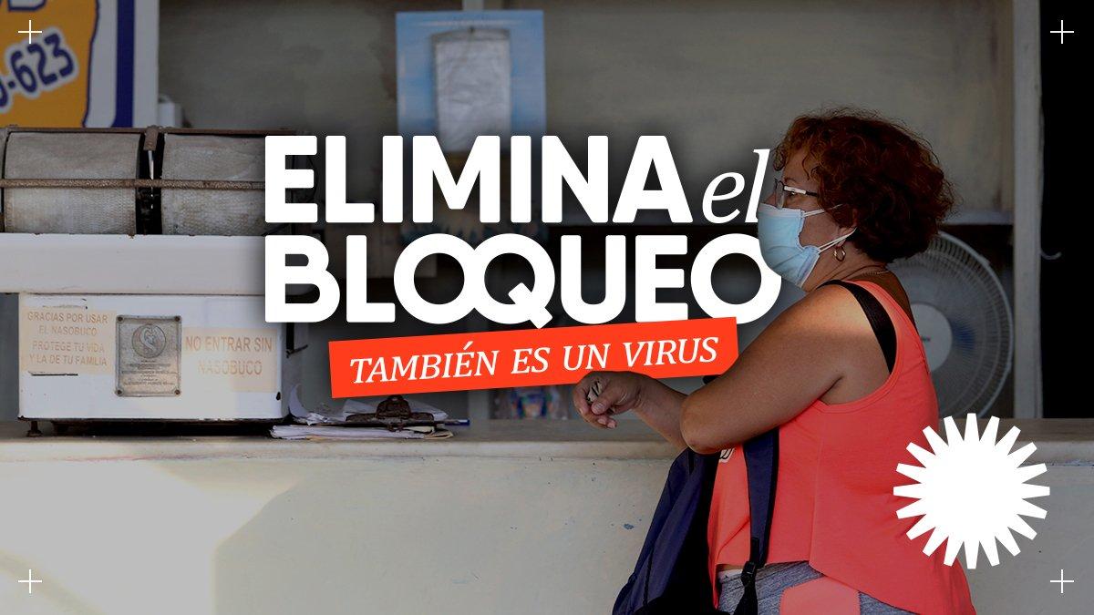 ¡#EliminaElBloqueo también es un virus!   #NoMasBloqueo https://t.co/VDWTcGVpw8