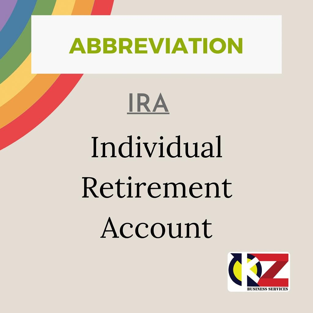 Learn new terms with us! 💯 #englishlearning #abbreviations #administration #retirement #learn #money #wealth #knowledge #pronunciation #businessterms #investments #management #entrepreneur #follow #KBS https://t.co/X4bwSx6JYI