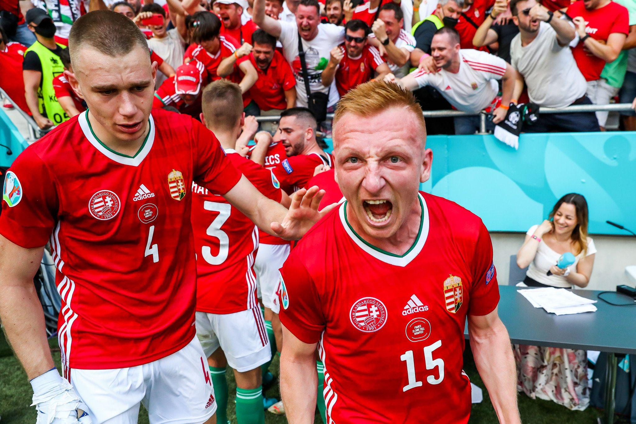 La Totale 🇪🇺 : Gosens 🔥 la célébration hongroise 😂 Allemagne 💪