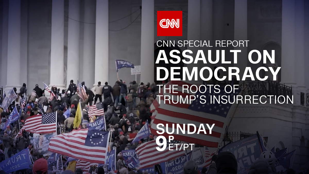 What do you want to know about what happened on January 6th? Join Drew Griffin as he investigates The Roots of Trump's Insurrection. A new CNN Special Report, Sunday at 9 p.m. ET/PT https://t.co/6DR54hTnWb