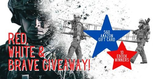 Ginny, Jenna, and Jo's Red, White and Brave Win e-books a $60 Amazon gift card #books #ebook #readingcommunity #Reading  #Giveaways #ContestAlert #Contest #contests #GiveawayAlert #giveaway #Sweepstakes #giftcardgiveaway  https://t.co/lxSSvmux9I https://t.co/0v4aEu8rR7