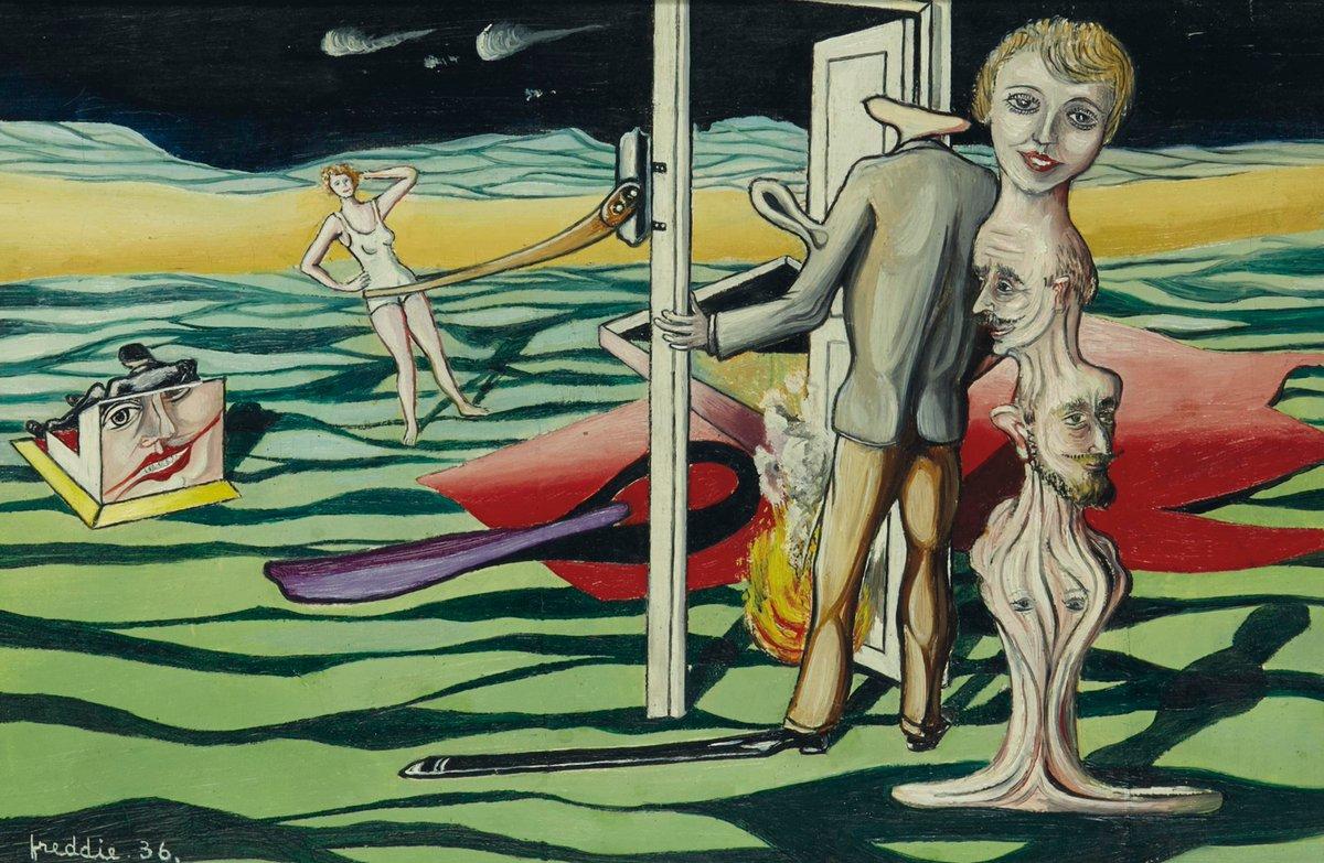 RT @claudioborlotto: #art #arts #artLovers #painting #DonneInArte #music Wilhelm Freddie https://t.co/6yOPjftxNg