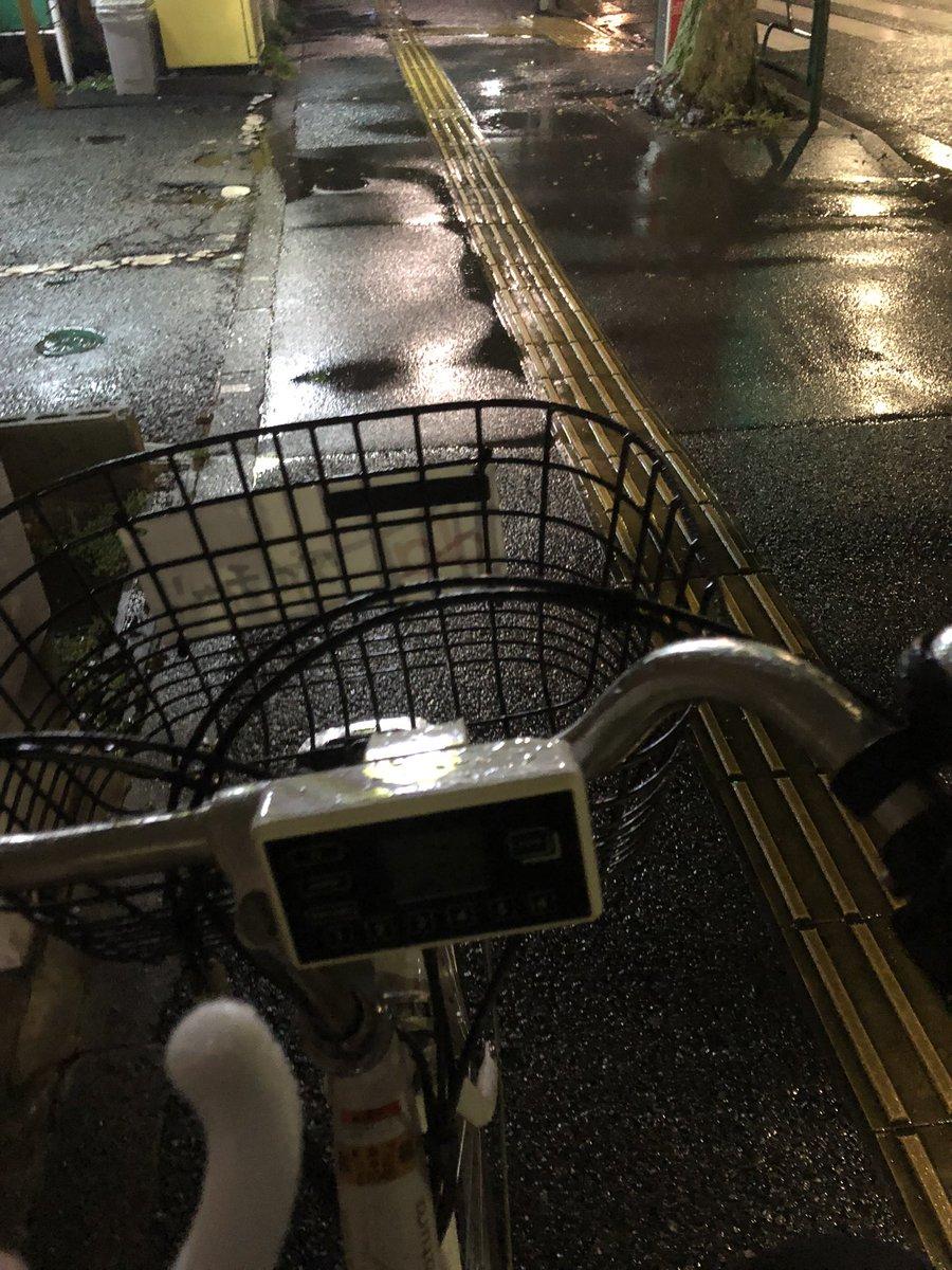 大雨の中、池袋から自転車で帰っているのはこの男〜‼️ https://t.co/rPLRSaqUyG
