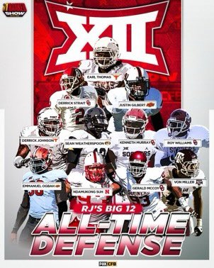 The Greatest of All-Time All-Big 12 Team has 22 Aaahh!!! Real Monsters on it. https://t.co/0WMvoPacdQ