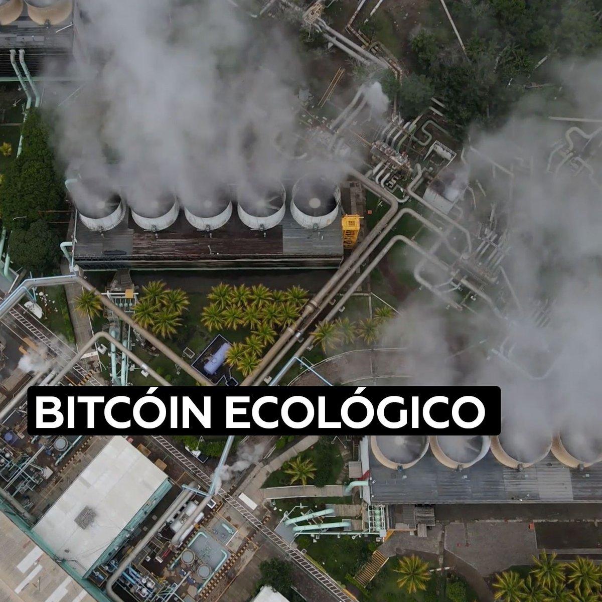 El Salvador comenzará a usar energía verde para minar bitcoines a través del calor de los volcanes https://t.co/SrtJBXm2eN
