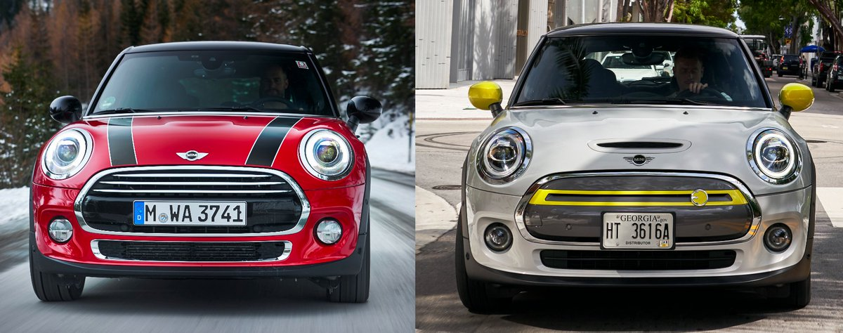 2/12 Which grill looks better? Combustion Mini or Mini Electric?  Decide in our latest article and win a cool LEGO!  https://t.co/mDnhw1APUz  #IsTheGrillGoingToDisappear #LEGO #Giveaway #MINI #MiniCooper #EV #ElectricVehicles https://t.co/ICliFoH9kL