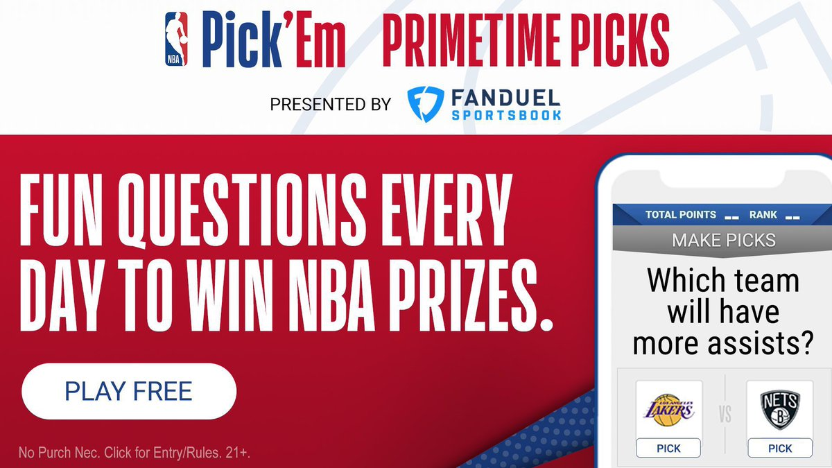 Which team will win Game 7? @Bucks or @BrooklynNets 🍿   Play NBA Pick'EM: Primetime Picks presented by @FanDuel for a chance to win awesome #NBA prizes!  🔗 https://t.co/jDwdeKhz38 https://t.co/jKfMdidxtL