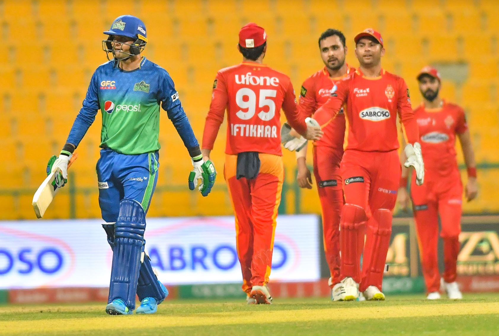 Islamabad United fight back brilliantly to restrict Multan Sultans to 149