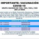 Image for the Tweet beginning: Nueva jornada de vacunación para