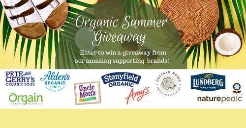 Organic Summer Giveaway #giveaway   #win #ContestAlert #contests #contest #giftcardgiveaway #Sweepstakes #GiveawayAlert #Giveaways #summer #foodie  https://t.co/ZEsBNOitJs https://t.co/iEMrw2xkHt