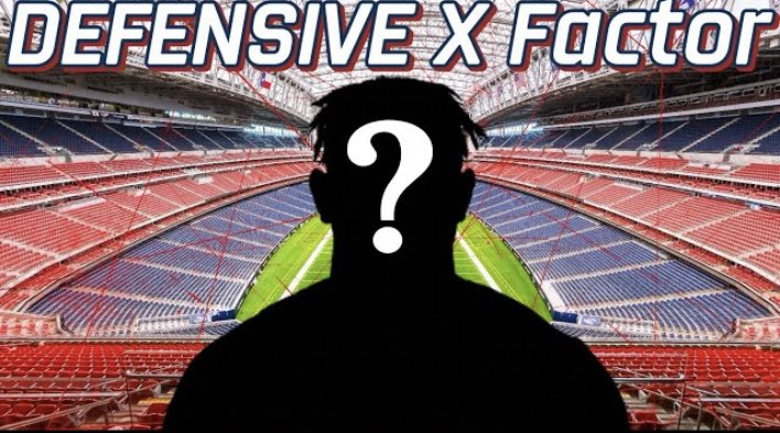 NEW #texans VID‼️ 🚨🚨🚨 THIS player will be the Texans DEFENSIVE X FACTOR...  Watch here❗️❕👇 https://t.co/UCw2YWZs7T https://t.co/thQHV0lp9p