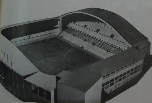Estos son los 4 proyectos premiados en el concurso de ideas que el Athletic convocó en 1950 par....