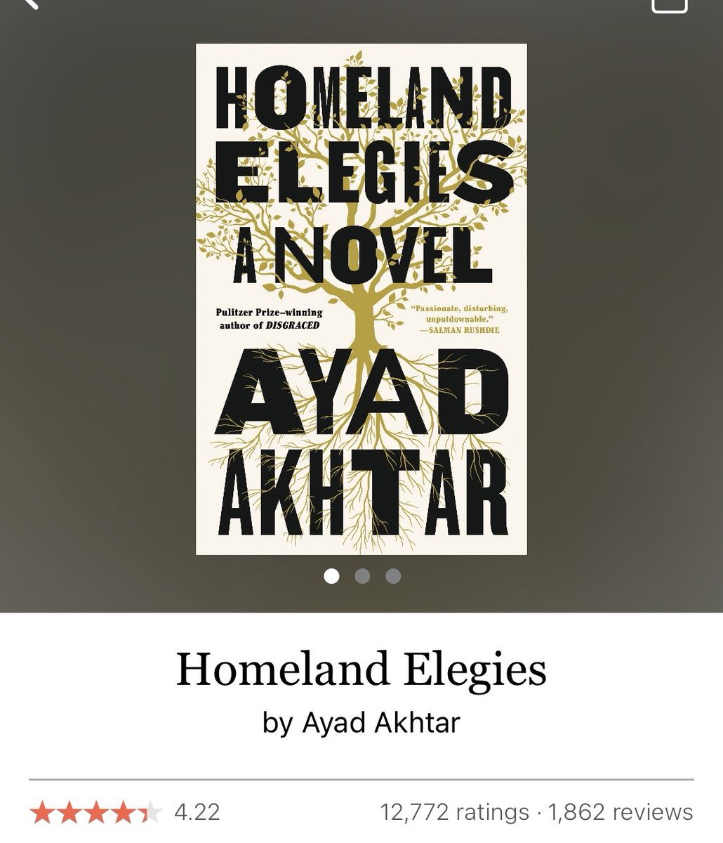 """I'm not sure which I liked more: the book or @ayadakhtar's reading of the #book on #Audible 🤔 Regardless, this book will resonate deeply with anyone who's been asked """"No, where are you reeeaaally from?"""" #aapi #racismisnotfreedomofexpression https://t.co/d0qCORnzFp"""