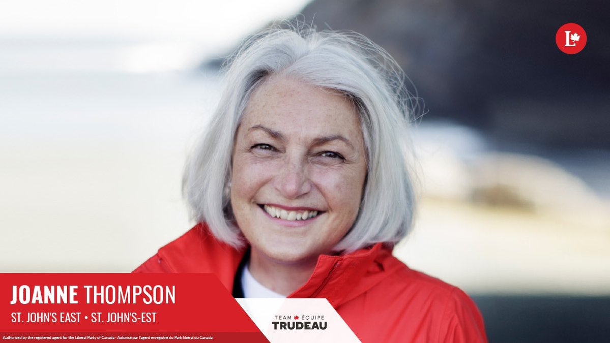 I am proud to share that I have been named the @liberal_party candidate for St. John's East! Thank you to the volunteers and voters for the support and trust you've placed in me. I am eager to get to work and meet the residents of SJE as part of #TeamTrudeau!  #nlpoli #cdnpoli https://t.co/hvxS3AzYax