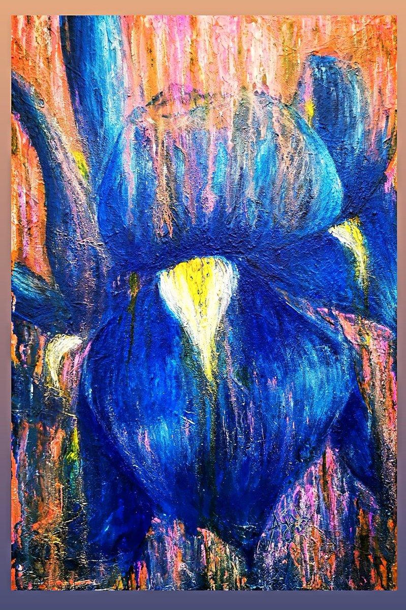 "زهرة  من مشروع ""وَلَه""  Flower- ""Obsession"" project  ©    2021, mixed media on canvas, 60 x 40 cm  #ukartists #uaeartwork #contemporaryart #fineart #artgallery #museums #visualart #exhibitions #mixedmedia https://t.co/glxEAsFW9w"