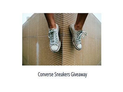 Converse Sneakers Giveaway   🖱️ Click here for sweepstakes link and details 👉 https://t.co/naoIPlqzIT   🌍️ US, 13+  #sweepstakes #giveaway #contests #converse #winshoes #sneakers #converseallstar #converseoriginal #shoegiveaway #shoesaddict #freeshoes #giveawayshoes https://t.co/xTscgdVXTn