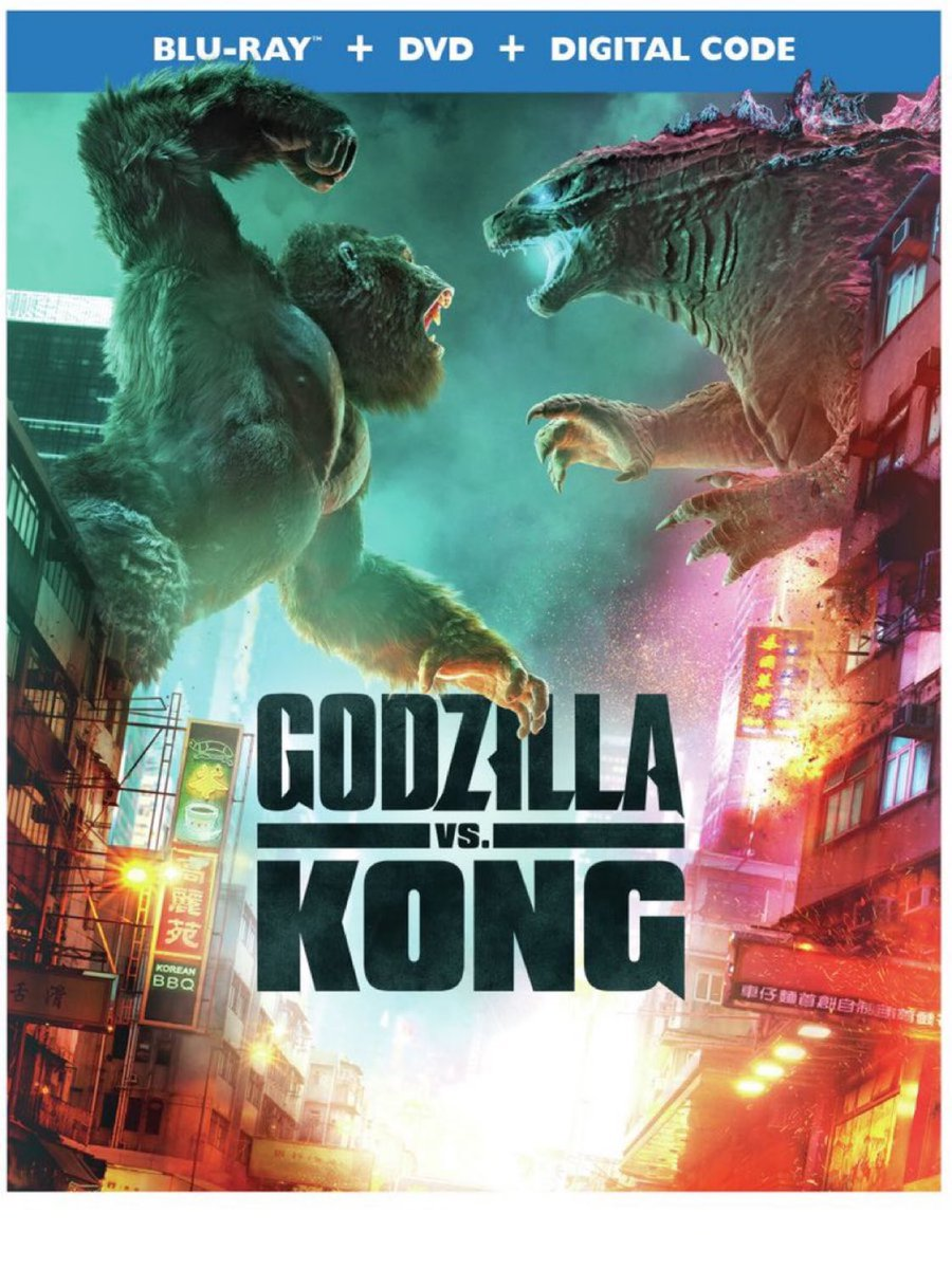 #GiveawayAlert   We have one (1) Blu-Ray copy of Godzilla vs. Kong from Warner Bros. for a giveaway   Follow @GeekVibesNation and @GeekVibesNews   Retweet   (Winner chosen 6/25)  The film is currently available to own on 4K UHD, Blu-Ray, DVD and Digital. https://t.co/QviE4WiUNe