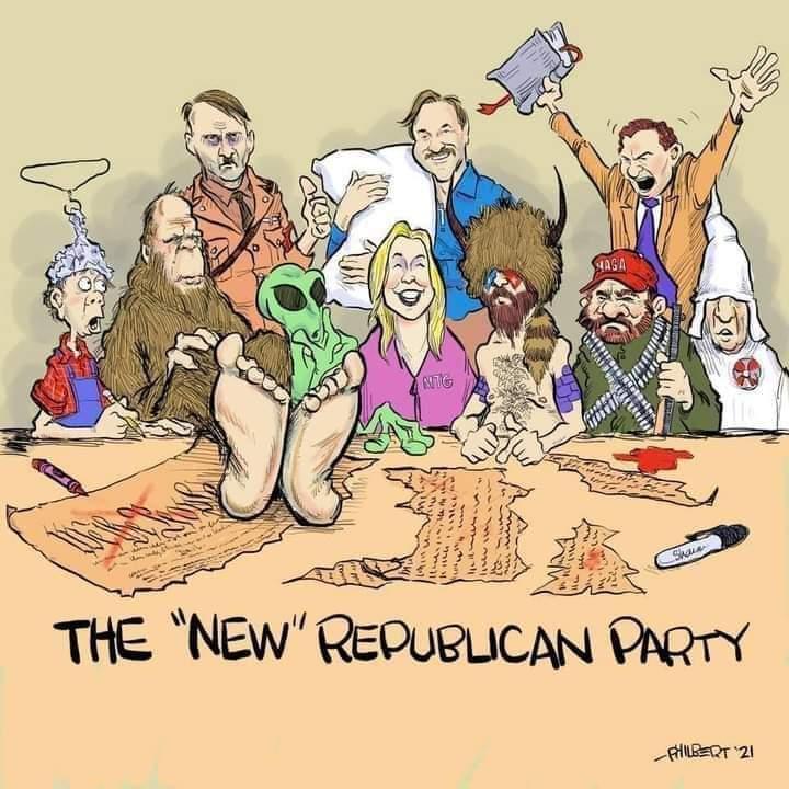 @LeaderMcConnell @GOPLeader #repukkkqnon #seditioncaucus #GOPComplicitTraitors #clinkclink https://t.co/wi3HowRiFp https://t.co/Jl4QdvOcFW