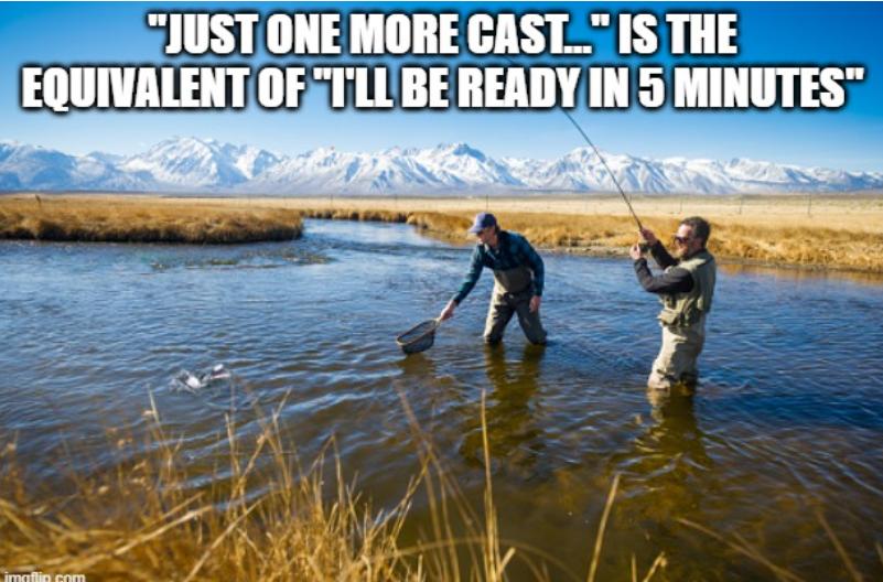 We've all heard that before 🙄🤣 https://t.co/muD3izq8az #justonemore #getoutthere #getoutdoors #hunting #fishing #hiking #camping #adventure #explore #MOTV #MyOutdoorTV https://t.co/pxXKMtWJYO