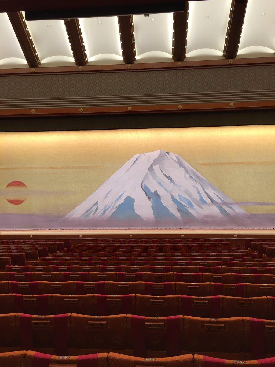 Today's Kabukiza Theatre NOW. #kabuki #tokyo #japan  #歌舞伎 #歌舞伎座 #theatre #play #traditional #六月大歌舞伎 https://t.co/JIzK2ao7nr