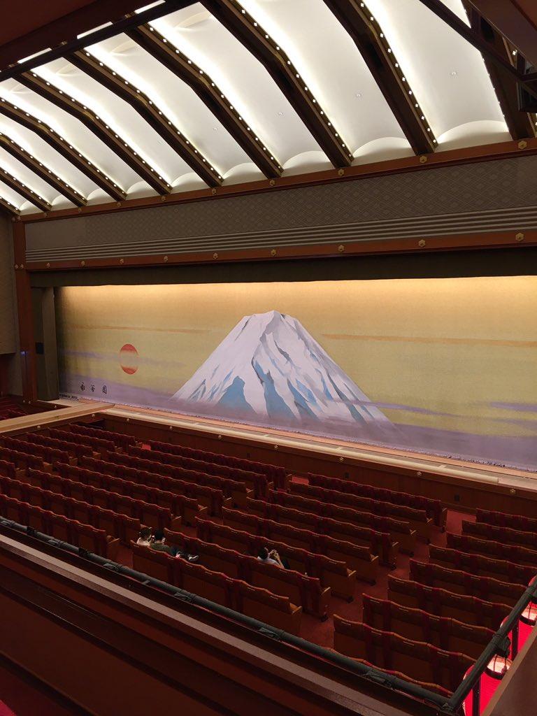 Today's Kabukiza Theatre NOW. #kabuki #tokyo #japan  #歌舞伎 #歌舞伎座 #theatre #play #traditional #六月大歌舞伎 https://t.co/PqS4NO2pFR