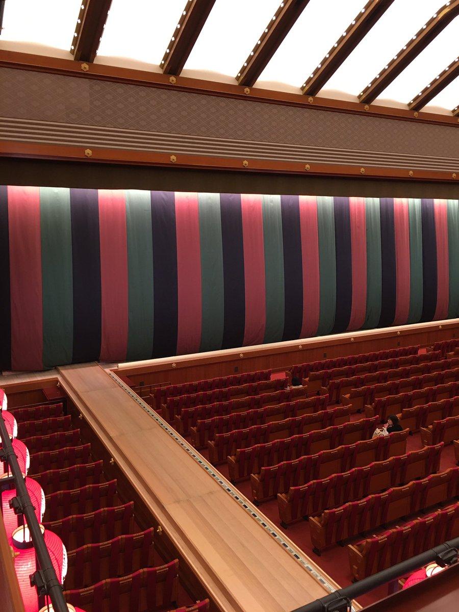 Today's Kabukiza Theatre NOW. #kabuki #tokyo #japan  #歌舞伎 #歌舞伎座 #theatre #play #traditional #六月大歌舞伎 #富士山 https://t.co/c9oQoER3Pn