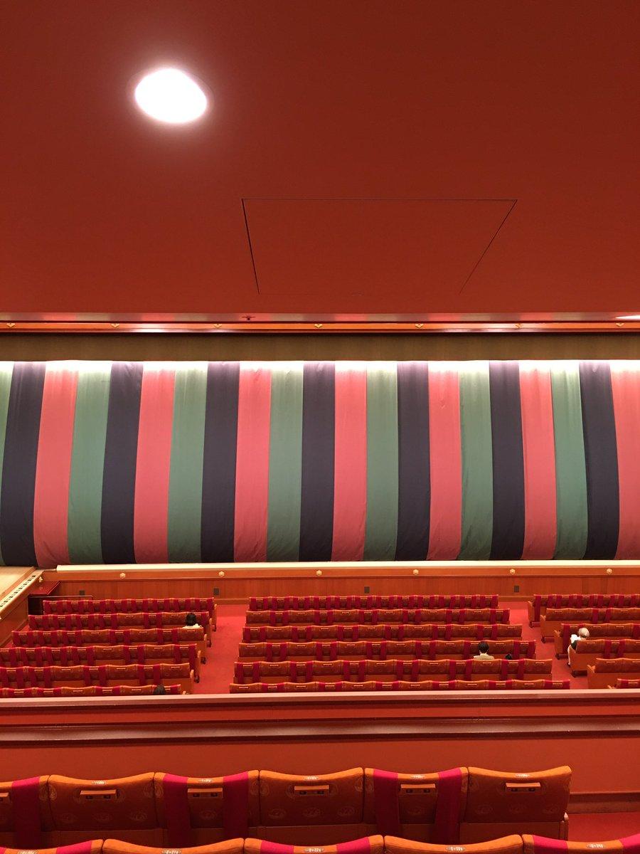Today's Kabukiza Theatre NOW. #kabuki #tokyo #japan  #歌舞伎 #歌舞伎座 #theatre #play #traditional #六月大歌舞伎 #富士山 https://t.co/AoVlUMNg9a