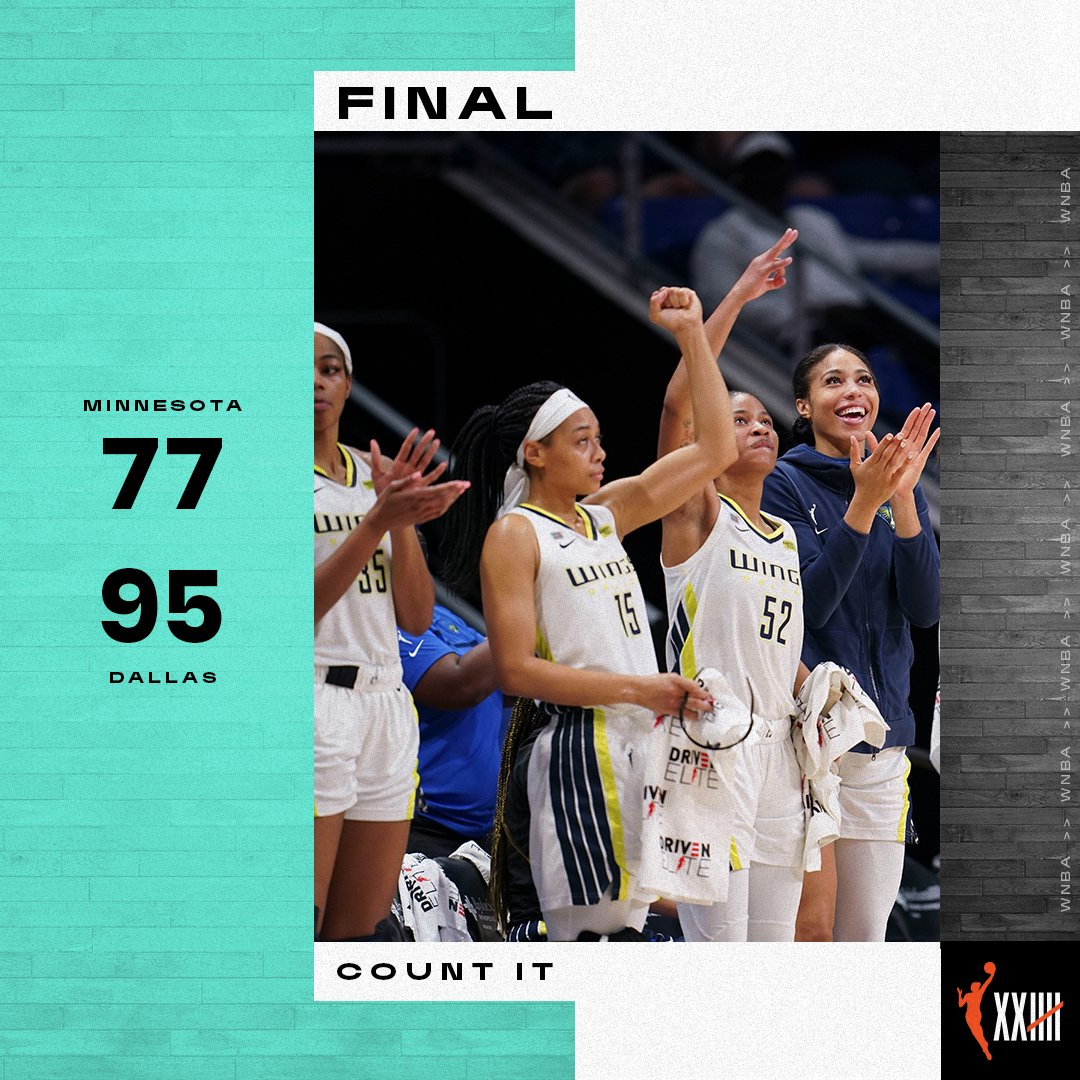 Dallas snaps 2-game skid in dominate win over Minnesota  #CountIt https://t.co/4p44okemLW