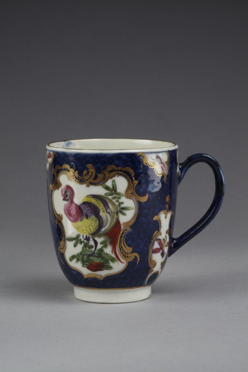 From the V&A collection: 414:654/A-1885 Coffee cup  V&A  Ceramics, Room 139, The Curtain Foundation Gallery https://t.co/SmT6t8EZfd #art #design #museums https://t.co/w9mYxiIMm9