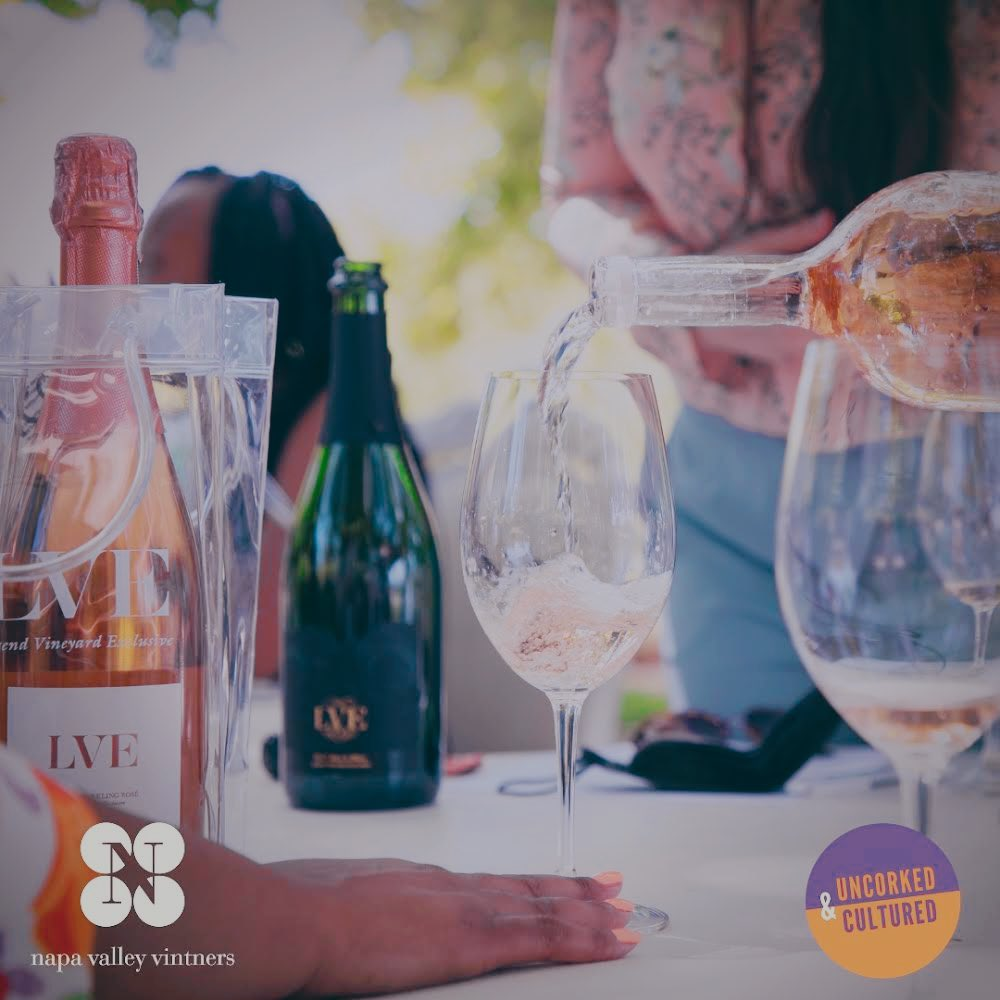 Thank you to Uncorked & Cultured for joining us to celebrate Juneteenth as they tasted their way through Black owned wineries in Northern California to connect Black communities across the diaspora through wine, wellness, culture, & adventure. #JuneteenthNapa #UncorkedandCultured https://t.co/07SQEpkqEi