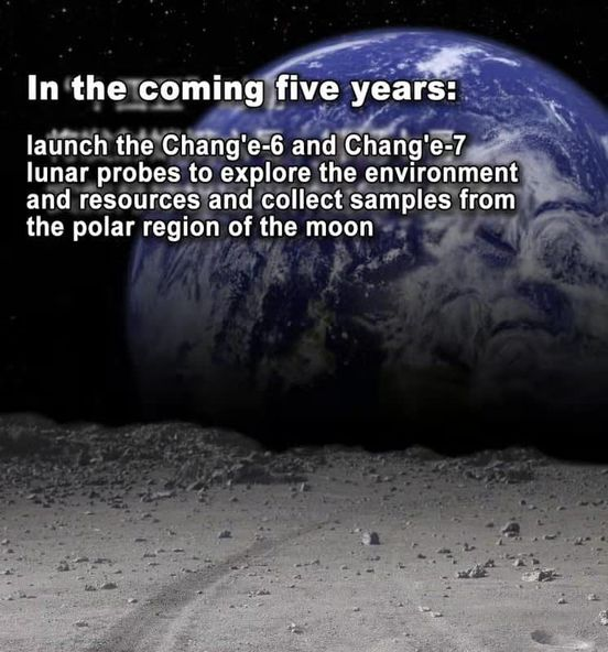 The #Moon, #Mars and Beyond: #China  has drawn blueprints for future #space exploration. Look forward! https://t.co/R5Zo9GzpCO
