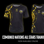 NEW IN!The Combined Nations All Stars range is extended with brand new training wear! Featuring the unique sleeve tattoo design of @MoseMasoe! 20% of all sales will be donated directly back to the @mosemasoefund!🛒https://t.co/DWrtdpREWr