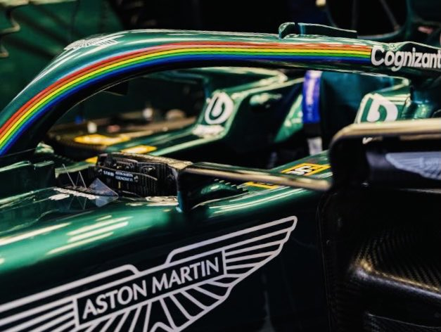 """Today is a VERY good day. Why? Because 30-odd years ago I arrived in #F1 as """"the only gay in the village"""", branded """"fat faggot"""" by one of the drivers, & today the F1 team I work for has festooned its cars with #Pride logos. I'm not crying. You're crying. #WeRaceAsOne #LoveIsLove https://t.co/9fz2eJQrAk"""