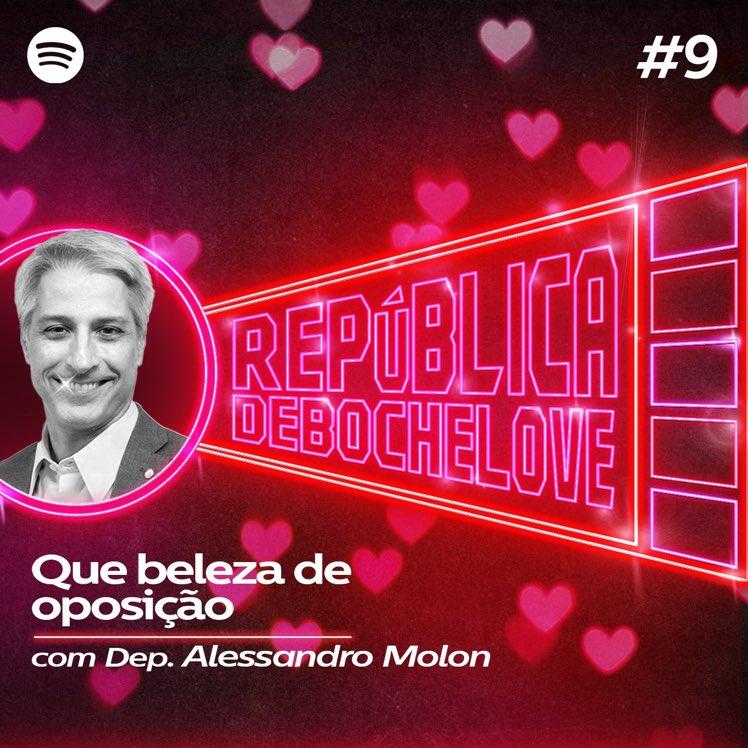 Ouve aí nosso episódio do podcast com Alessandro Molon pra melhorar o seu domingo.   https://t.co/R6NEUpN1eI https://t.co/o3i59kups8