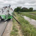 Image for the Tweet beginning: Heel veel #wateroverlast in de