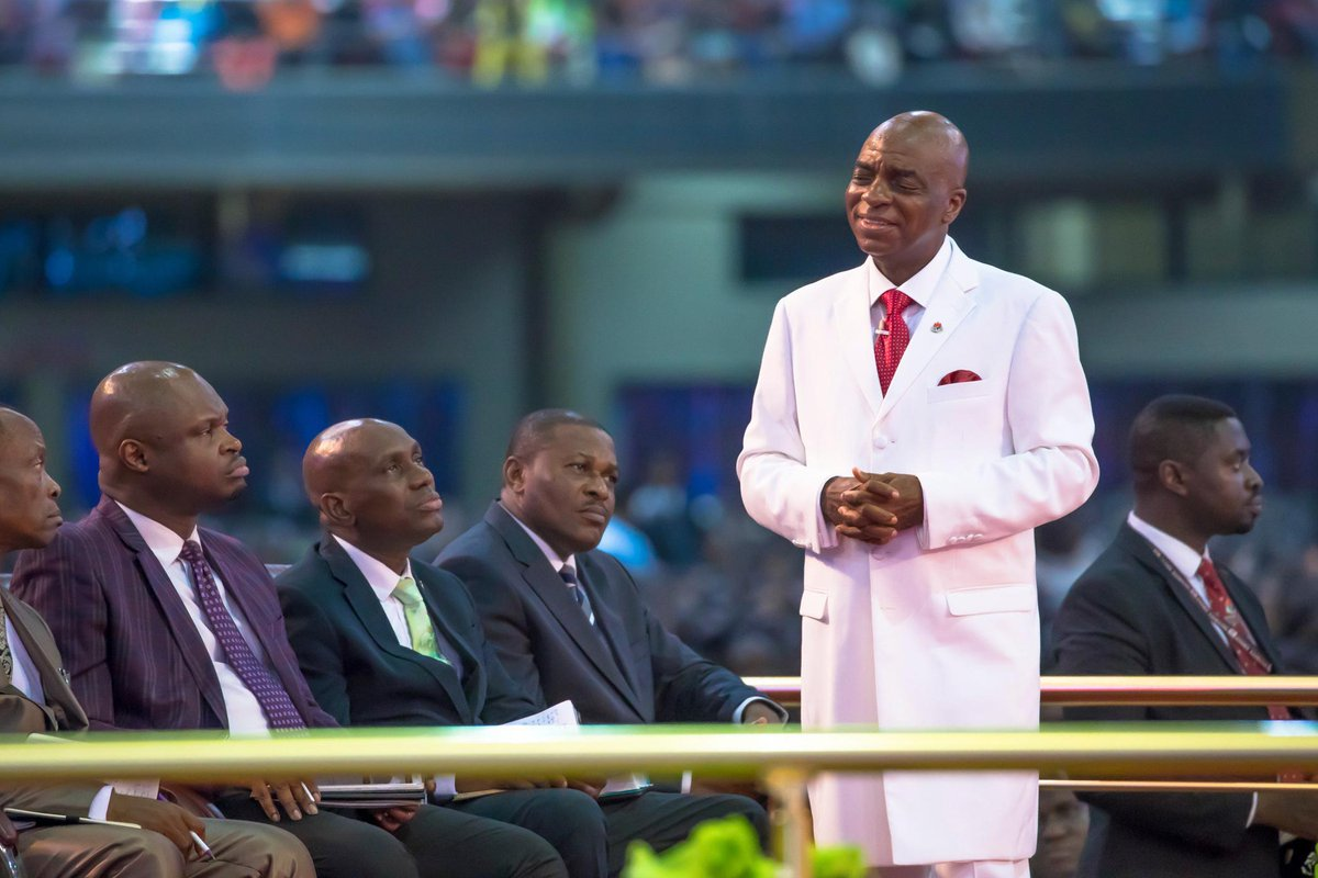 The only thing that remains in Nigeria today is the investments of God's people-Oyedepo  #WinnersChapel #aspooraschurchrat #LFC #LivingFaithChurch #God'speople #Ota #TotoriNews #DrDavidOyedepo #NigeriaeconomyTh  https://t.co/LVHCYTHJ5d https://t.co/tmf7LBzH5K