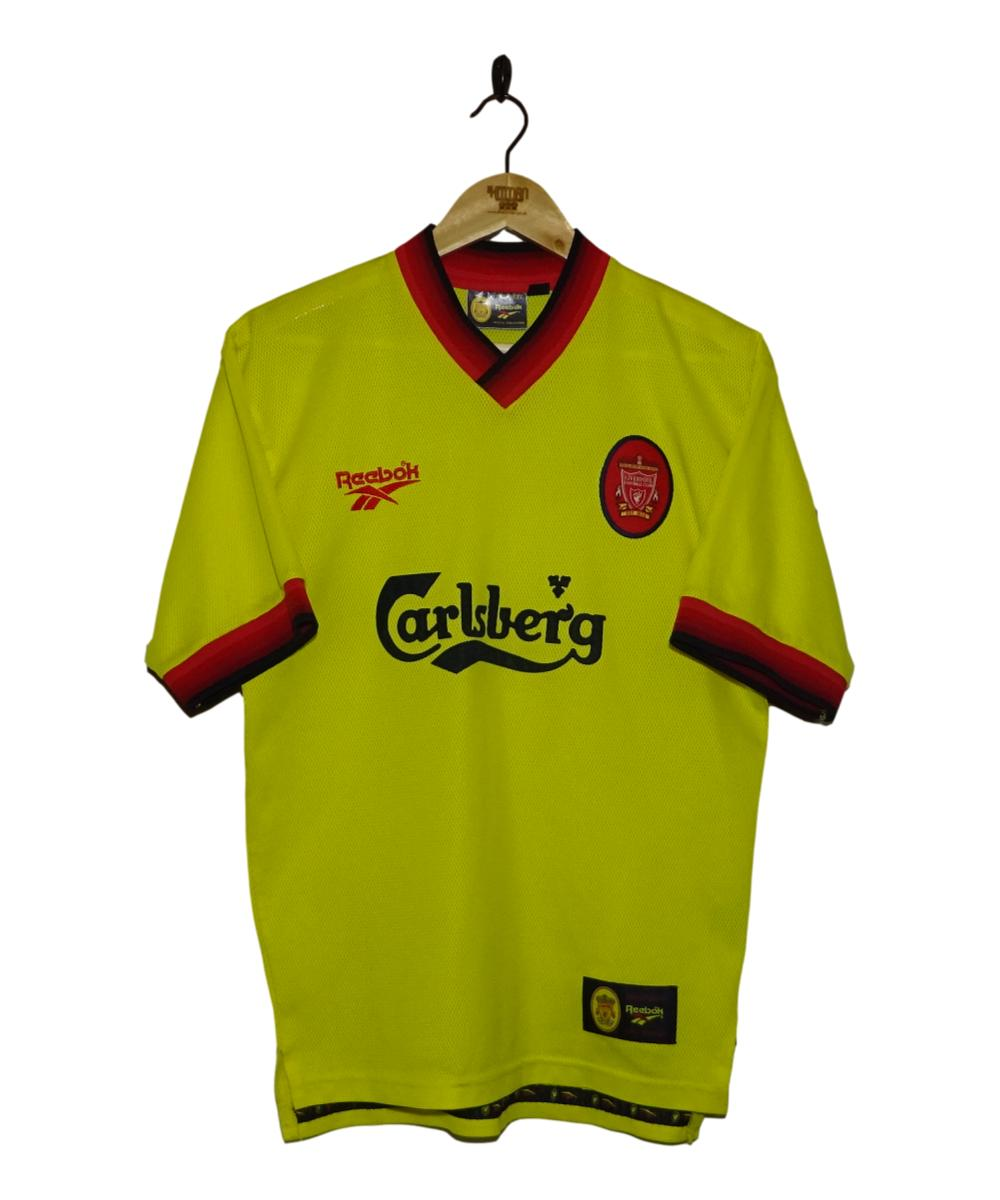 Checkout this 1997-99 Liverpool Away Shirt (S)!  Buy Now at https://t.co/ZmRadKWrS9   Free UK P&P!   #1997-99 #LFC #Liverpool #LiverpoolFC #Reebok #TheKitman https://t.co/olrWY4YCPq
