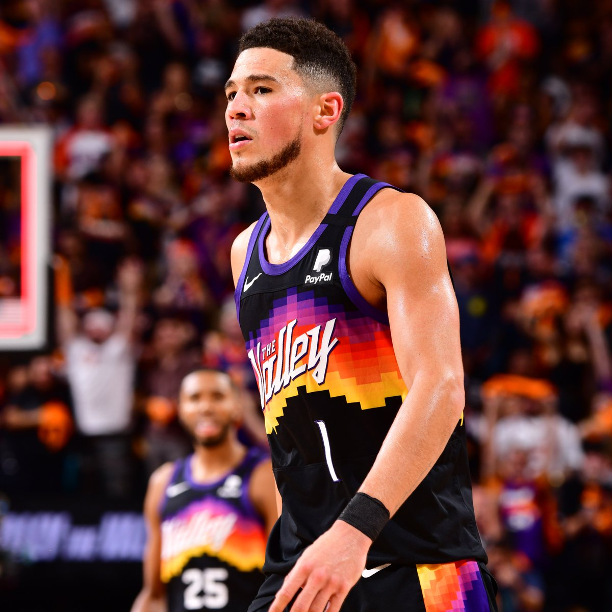 Devin Booker is the first @Suns player to record a triple-double in the #NBAPlayoffs since Steve Nash in May of 2005. https://t.co/tEn6qlpbK7