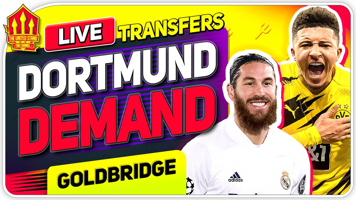 Dortmund Ultimatum! Ramos Incoming? We're LIVE https://t.co/mUjt0Iq5cv https://t.co/udZtlAJULo