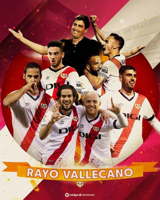 رسمياً: رايو فالكيانو يصعد إلى الليغا . .