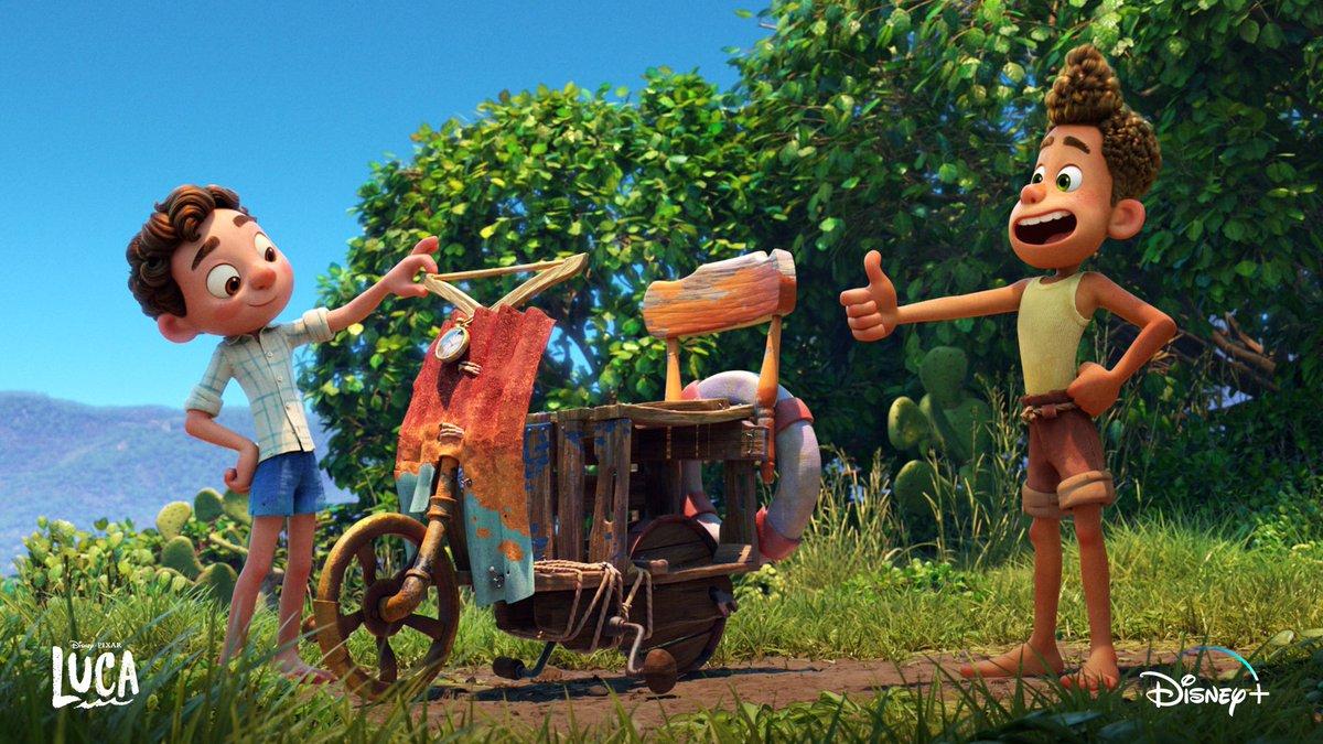 A must-SEA movie 🤩🌊 Celebrate the #FirstDayOfSummer with #PixarLuca, now streaming. #SummerOfDisneyPlus https://t.co/KyFQem2HFb