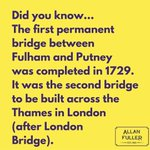 Image for the Tweet beginning: Our #Putney fact of the
