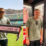 Image for the Tweet beginning: Ilicic torna a Palermo: visita