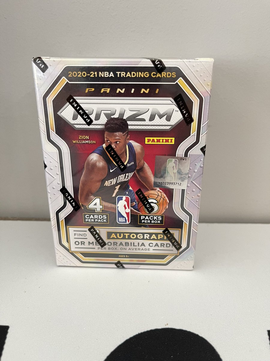 🔥Fast Break Fire Raffle🔥 Ends at 9:30 AM EST  $65 Shipped. No Tax 2020-21 NBA Prizm Blaster from @PaniniAmerica   Winner can purchase if selected by electronic randomized drawing.  Like & Retweet to be entered. https://t.co/rz9NRUgZN2