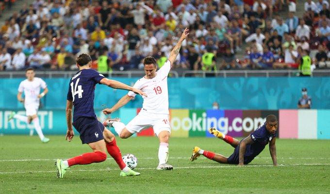 الركلات الترجيحية تحسم لقاء فرنسا وسويسرا في يورو 2020