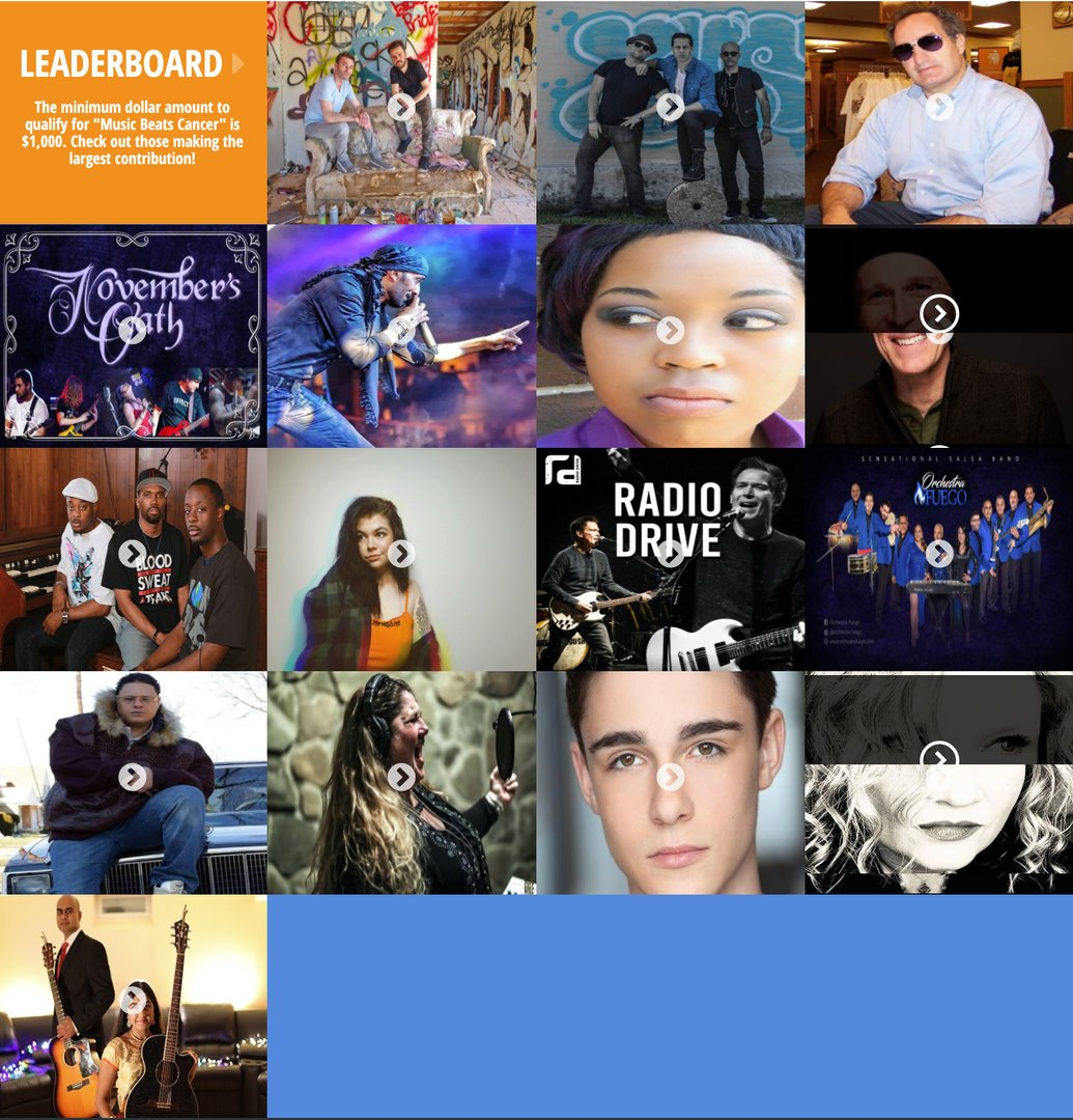 UPDATE: The #MusicBeatsCancer Challenge has resulted in over $5,000 raised for cancer research!  Thank you to all of our participating artists!  See who is winning here: https://t.co/IcOLcBT87f  #NationalCancerSurvivorsDay #SurvivorsDay @hot995 https://t.co/58lMvhA1az