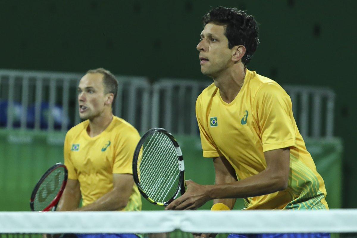 É VAAAAAAGA OLÍMPICA 🎾 Bruno Soares e Marcelo Melo estão classificados para #Tokyo2020 Eles se juntam a @dThiagoMonteiro e João Menezes, garantidos na simples. E a dupla vem forte em busca da tão sonhada 🏅 olímpica